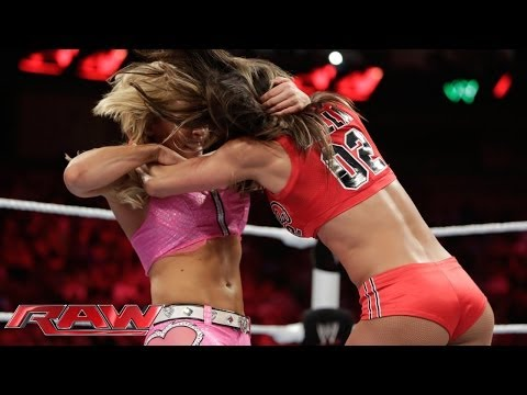 Natalya Vs. Nikki Bella: Raw, May 12, 2014 video