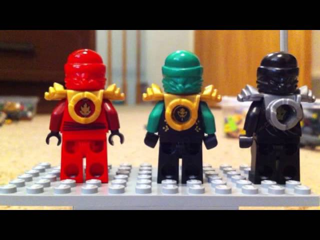 "Ninjago Gangnam ""200 views sequel!"""