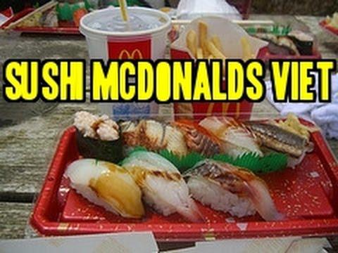 Mcdonald's Sushi Vietnam??? Food Porn