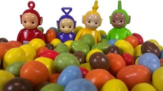 Teletubbies and M&M