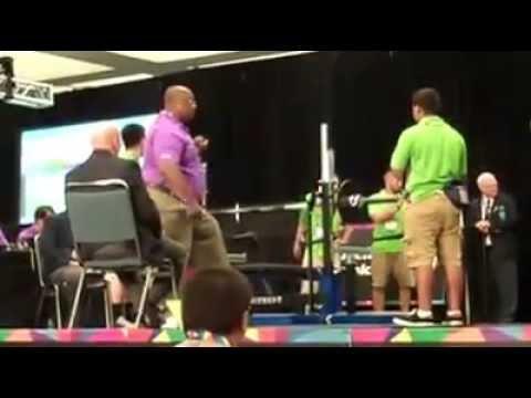 2015 World Games - Bench Press