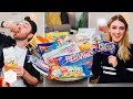 British People Trying American Candy Part 2 - In The Kitchen With Kate