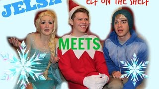 FROZEN MEETS ELF ON THE SHELF | Horror Short Film