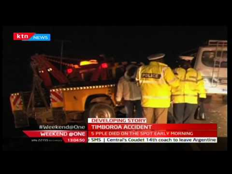 Weekend at One: Timboroa Accident's midnight road accident Death toll rises to six