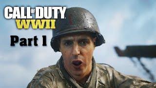Call of Duty WWII ไทย Part 1 ยึดหาด Normandy