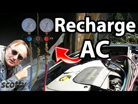 Replace, Recharge or Refill Your Air Conditioning System