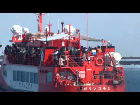 流氷砕氷船ガリンコⅡ号