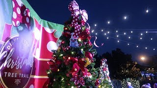Disney Holiday Date Idea! | Christmas Tree Trail & Holiday Decorations At Disney Springs!