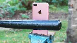 IPHONE 7 VS BASEBALL BAT in 1000 FPS (Crash Test with Prototype)