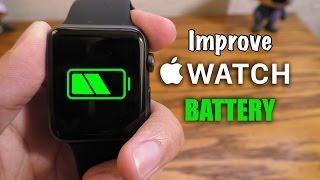 Improve Apple Watch battery life (Tips & Tricks)