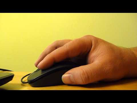 ASMR Man Using Mouse Relaxation Video