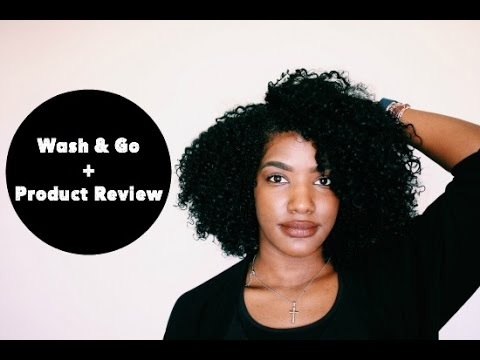 Wash & Go Series #2   Creme of Nature   Tutorial + Review