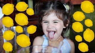 WATCH A TODDLER EAT A LEMON (funniest reaction)