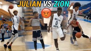 Julian Newman vs Zion Harmon Was A 1-1 SHOW! Insane Highlights & Both Guys Scored 30!!!