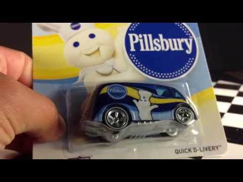 Hot Wheels 2013 Pop Culture General Mills Pillsbury Quick D Livery