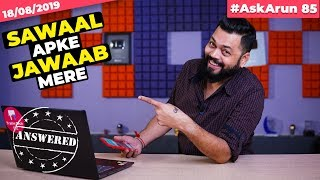 #AskArun85- Realme 5 Pro On SD730??,Redmi Note 8 Pro Launch,Mi A2 Vs Mi A3,Honor 9X 🇮🇳, OnePlus TV