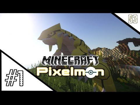 Minecraft Pixelmon w L8Games S3:Episode #1 HOSTILE BEGINNINGS POKEMON IN MINECRAFT