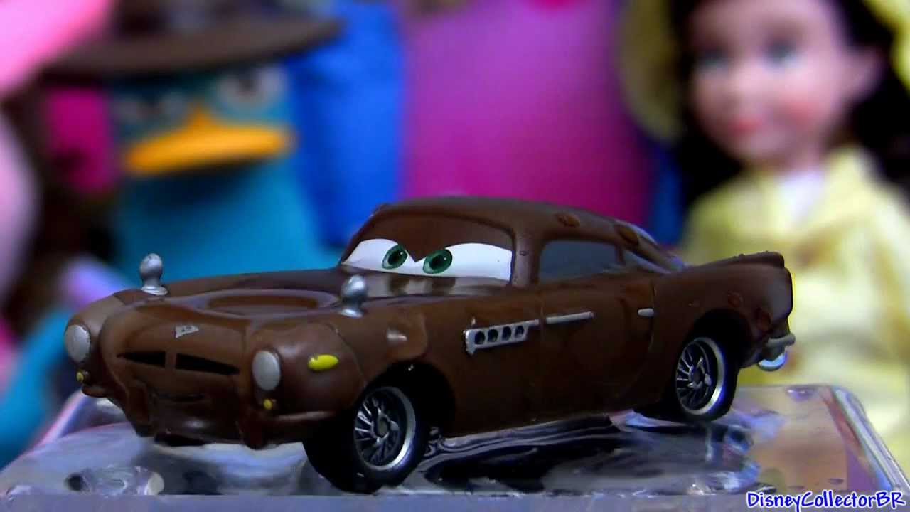 Cars Color Changers: Color Changers Stealth Finn McMissile From CARS 2 Disney