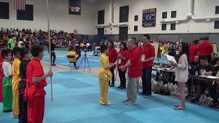 Chinese Martial Arts Tournament CMAT 2015 - Pure Shaolin Kung Fu School Belmont