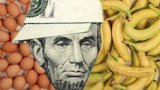 Koliko hrane mozete kupiti za 5 dolara sirom svjeta