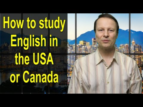 How To Study English In The Usa Or Canada - Learn English Live 19 With Steve Ford video