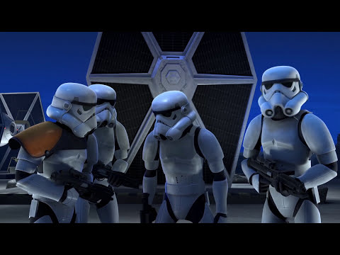 "Star Wars Rebels: ""Art Attack"" Short"