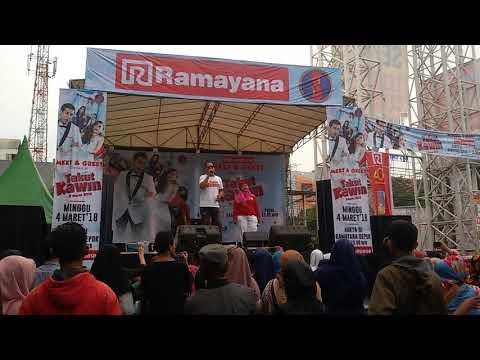 Lagu HARSYA RIEUWPASSA - KAU SEPUTIH MELATI (OST. TAKUT KAWIN) meet & greet Ramayana Plasa Depok