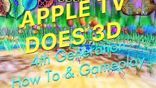 Enable 3D on Apple TV 4TH GEN GamePlay & Tutorial