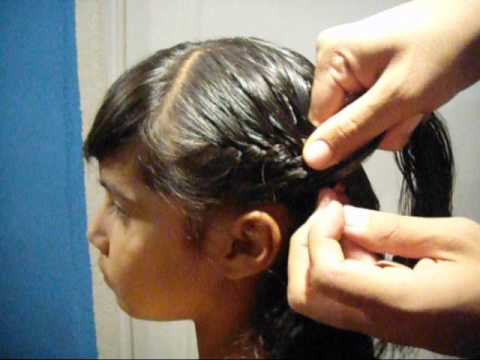 Como hacer como hacer trenza por un lado braid on one side - Trenzas de lado ...