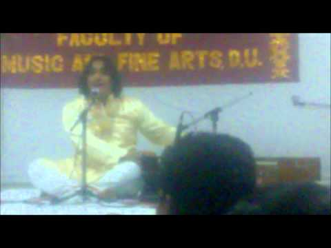 Mere Ranjha Palle Pa De - Jasbeer Singh Kainth At University Of Delhi video