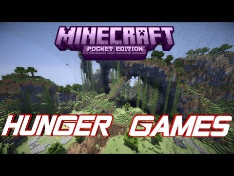 Minecraft PE Hunger Games ! [DOWNLOAD]