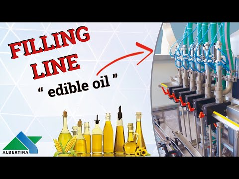 Albertina - Complete filling line for edible oil - 2L bottles