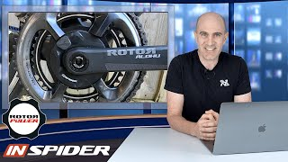 ROTOR INSpider Cycling Power Meter: Details // Install // Data Review