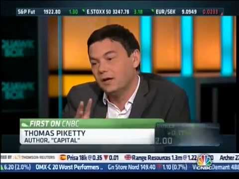 Piketty on  Fed policy and Wealth Inequality (CNBC)