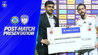 Post-Match Presentation - Jamshedpur FC vs NorthEast United FC | Hero ISL 2019-20