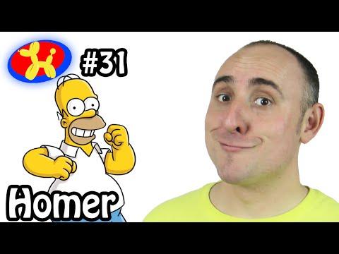 Homer - Balloon ! Win ! Fail ! #31