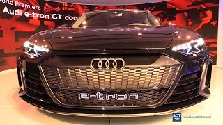 Audi e-tron GT Concept - Exterior Walkaround - World Debut at 2018 LA Auto Show
