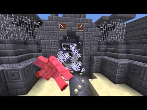 WITHER vs IRON GOLEM - New Minecraft 1.4 Mob Arena Fight (+DOWNLOAD)