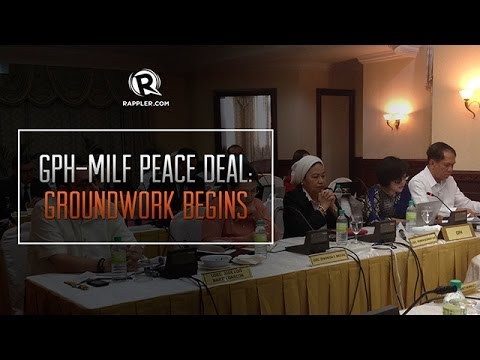 GPH-MILF peace deal: Groundwork begins