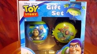 3D VIDEO: Toy Story 3 Gift Set with Cookie Unboxing Surprise Ball & Toys