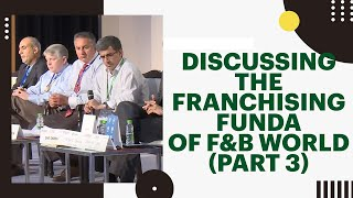 Discussing the franchising funda of F B