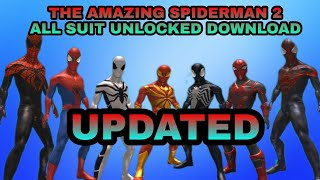 THE AMAZING SPIDERMAN 2 || ALL SUITS UNLOCKED || ANDROID || DOWNLOAD || ALL ABOUT GAMING WITH SK