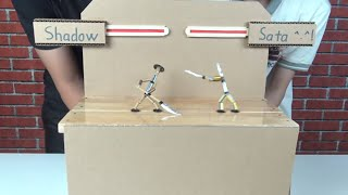 Make SHADOW FIGHT 20 Game from Pencil and Bamboo