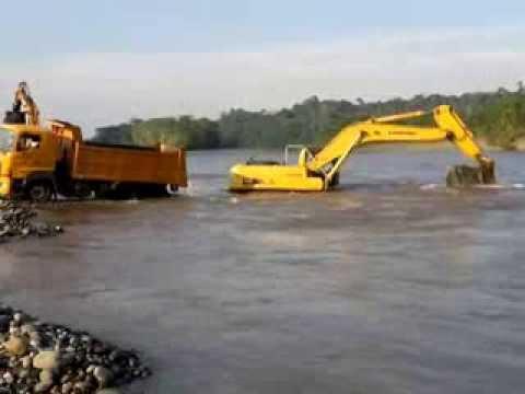 Minas, Petreas Excavadoras Volquetas