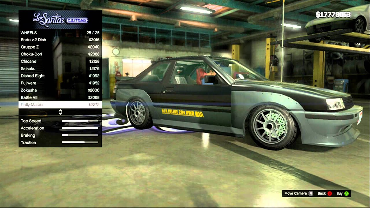 Best Car For Drifting In Gta