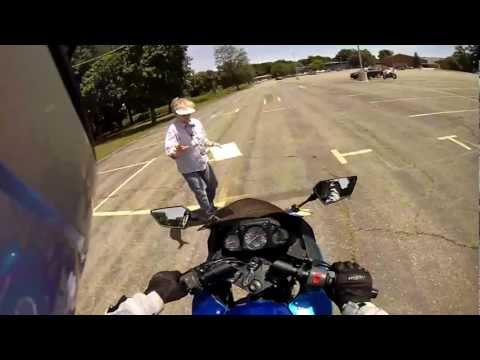 POV Motorcycle Skills Test - PASSED