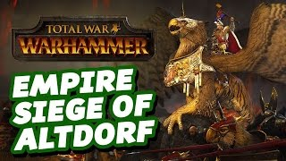 Empire Siege of Altdorf - Let's Play Total War: Warhammer