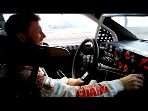 Dale Jr. takes fans along for the ride