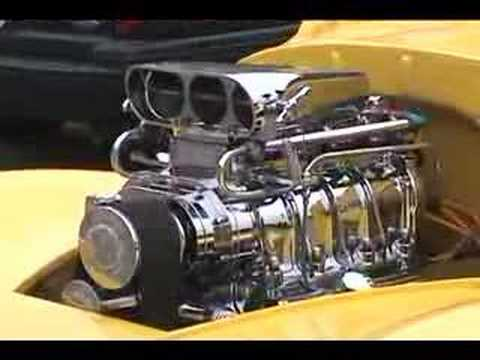 Blown Efi Willys With Kinsler Fuel Injection Youtube