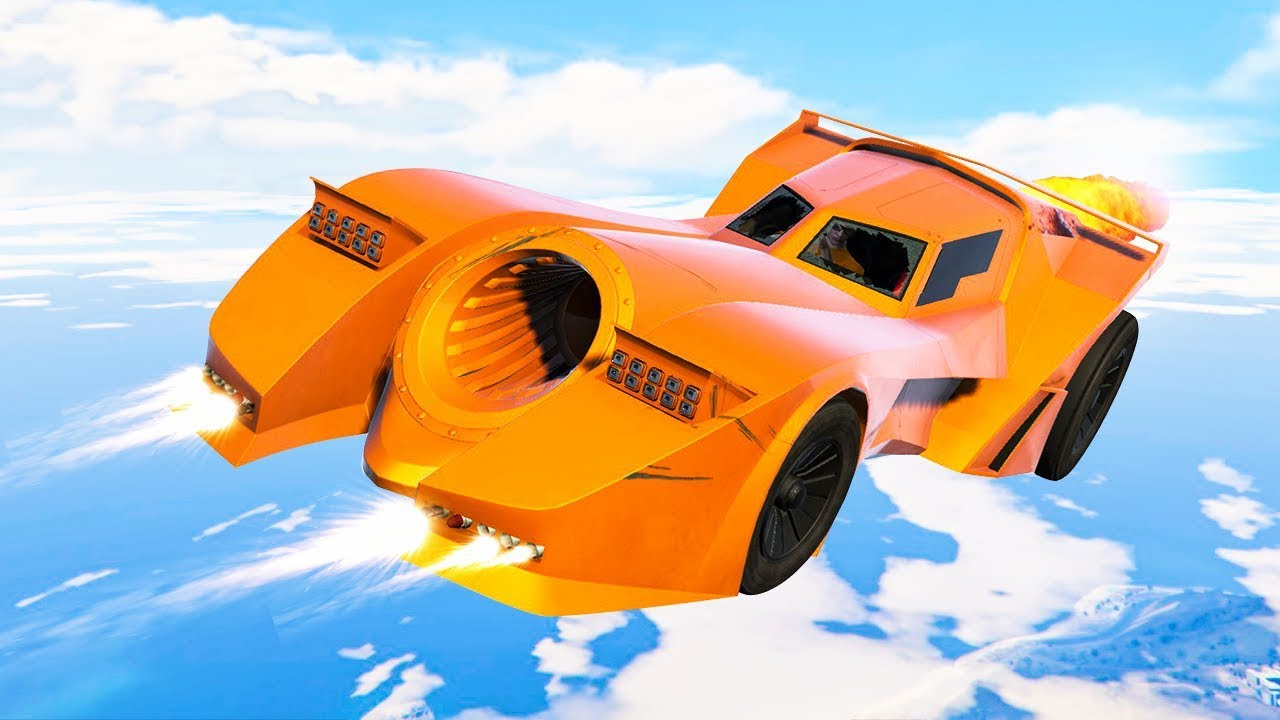 NEW $4,750,000 BATMOBILE CAR DLC! (GTA 5 DLC)